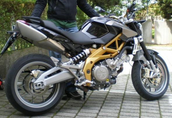 Presa! Aprilia Shiver SL 750