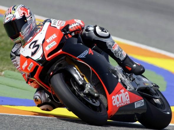 Intervista con Max Biaggi Aprilia Racing