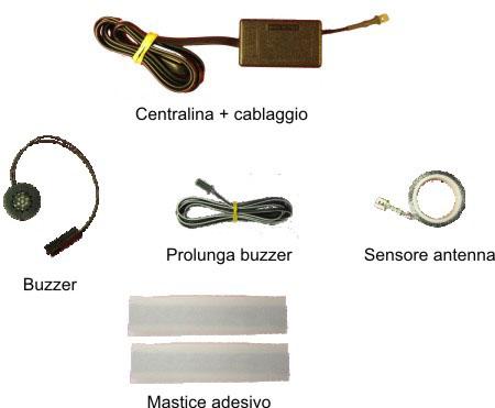 installazione sensori di parcheggio a banda magnetica
