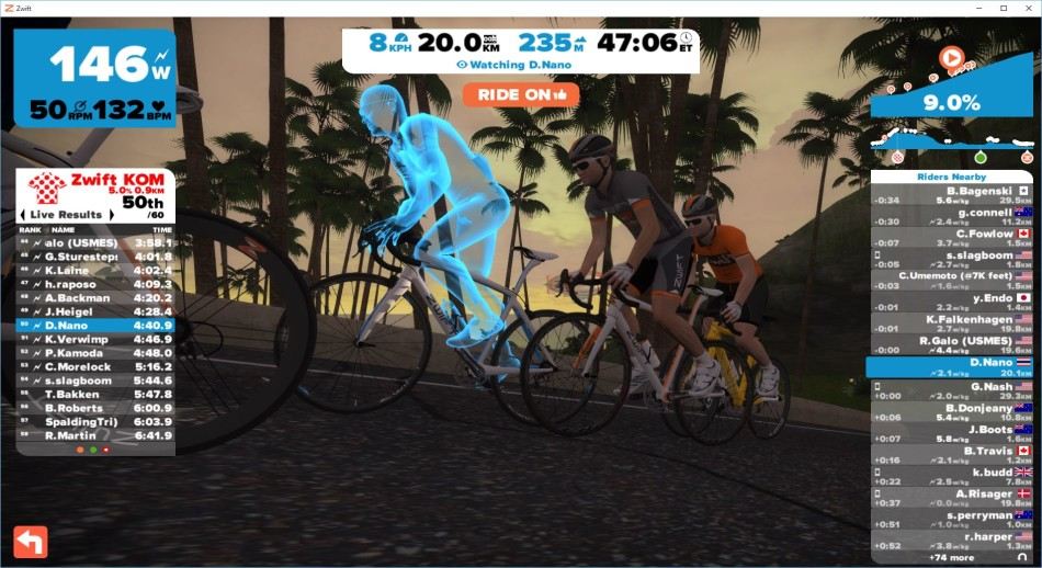 zwift hill