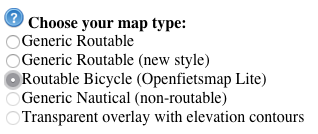 Set-Downloadable-maps-to-bike-routes